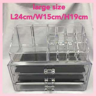 ON HAND AND READY TO SHIP! Make Up Organizer!