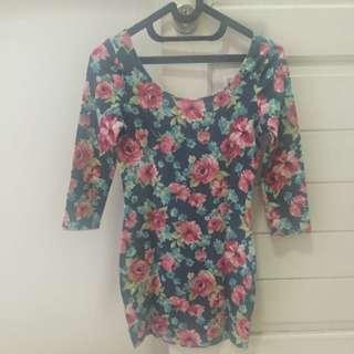 Floral Mini Dress Forever 21