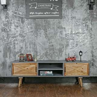 Loft Screed Barn TV Console / Coffee Table