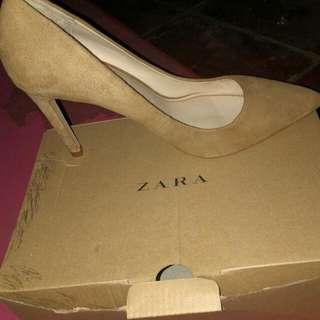 high heels zara basic