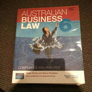 Australian Business Law 6th Ed