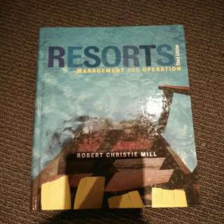 Resorts Management And Operation Third Edition