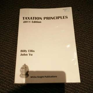 Taxation Principles 2011 Edition