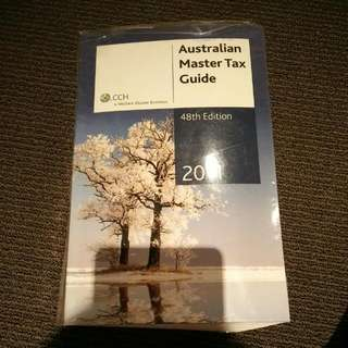 CCH Australian Master Tax Guide 48th Edition 2011