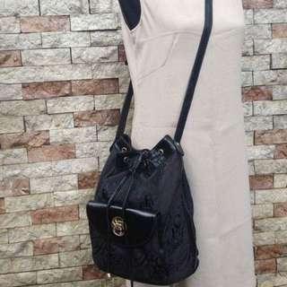 Authentic Vintage Nina Ricci Drawstring Bag