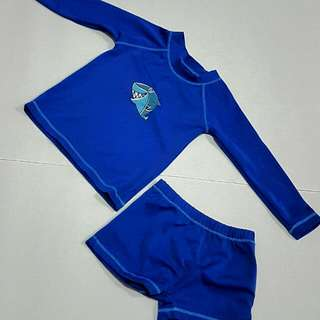 Rash Guard And Shorts
