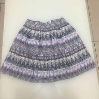 🌸時尚幾何短裙