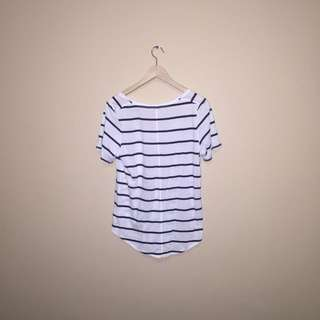 Babaton Loose Striped Tee