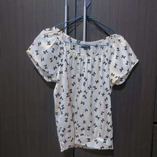'Colorbox' Butterfly Pattern Shirt