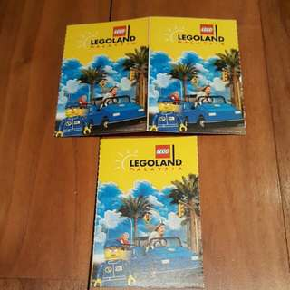 Legoland Tickets - 2 Adults + 1 Child *Only $90!