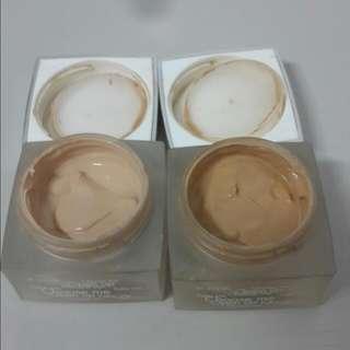 RMK水凝光采粉霜×2 色號201和103