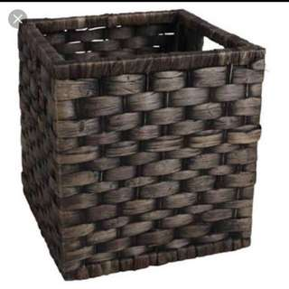 Square Wicker Basket 27cm