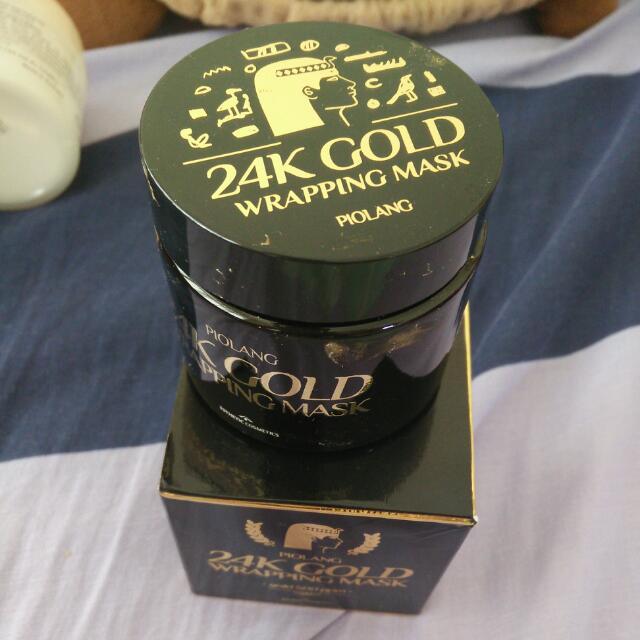 24K PIOLANG GOLD WRAPPING MASK