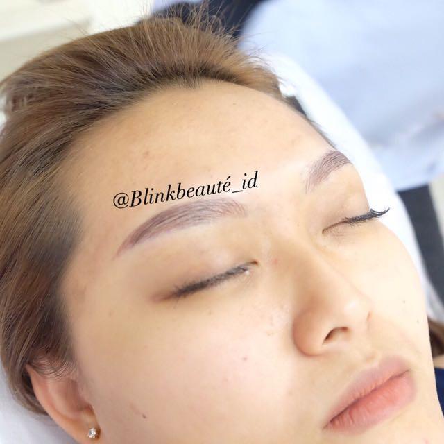 6d Eyebrow Microblading By @blinkbeauté_id