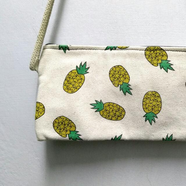 小鳳梨帆布袋
