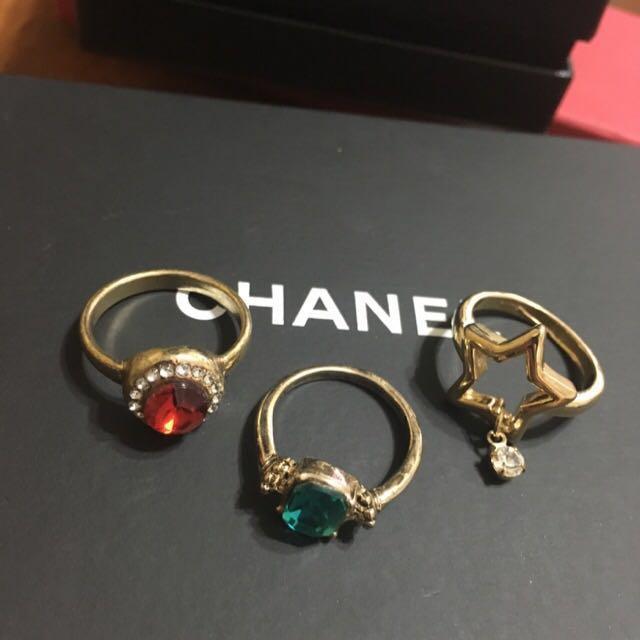 戒指 寶石