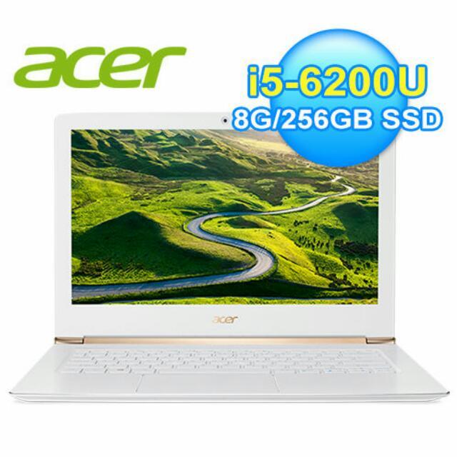 acer 時尚輕薄型i5筆電 S5-371-53NX
