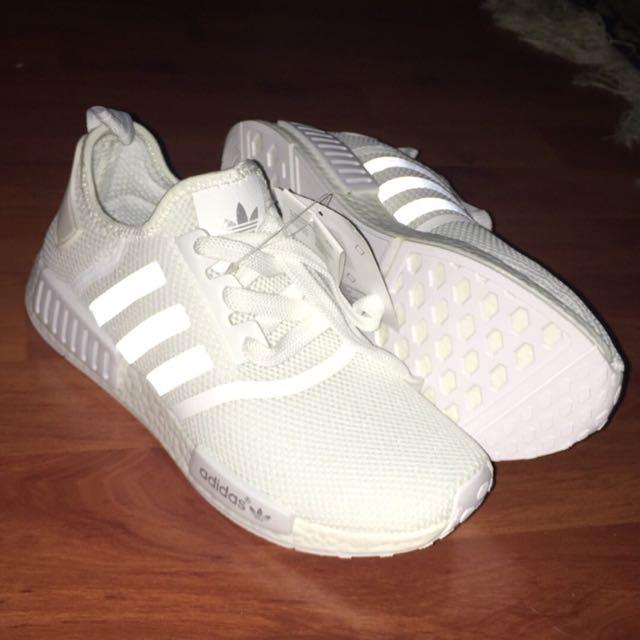 Adidas NMD triple White Runners