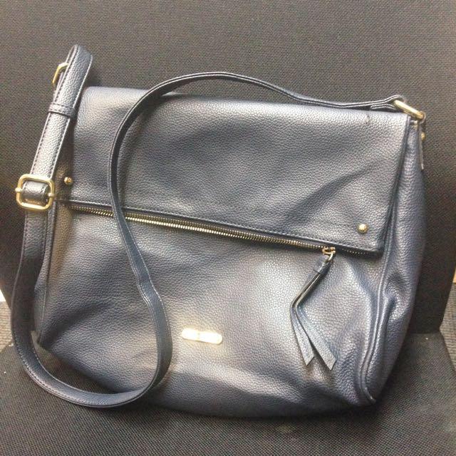 Anne Klein Navy Sling Bag