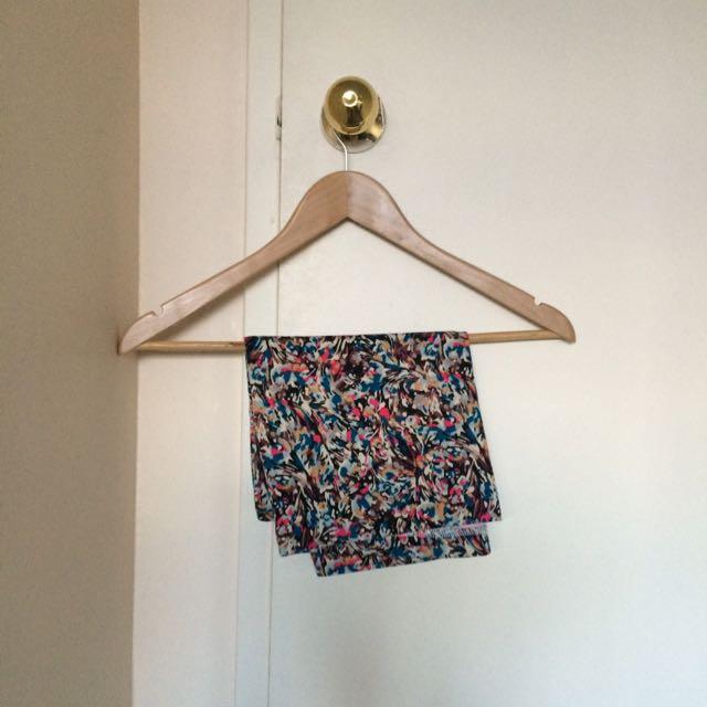 BCBG MAX Floral Tube Skirt