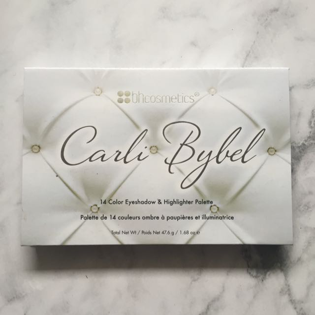 BH Cosmetics Carli Bybel Palette 100% Authentic