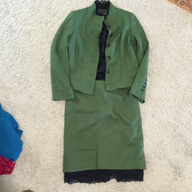 Blazer And Skirt Set (size 10)