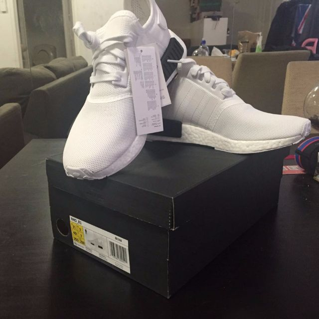 Brand new Authentic Adidas NMD White/Black 'Panda' colourway with Original Box