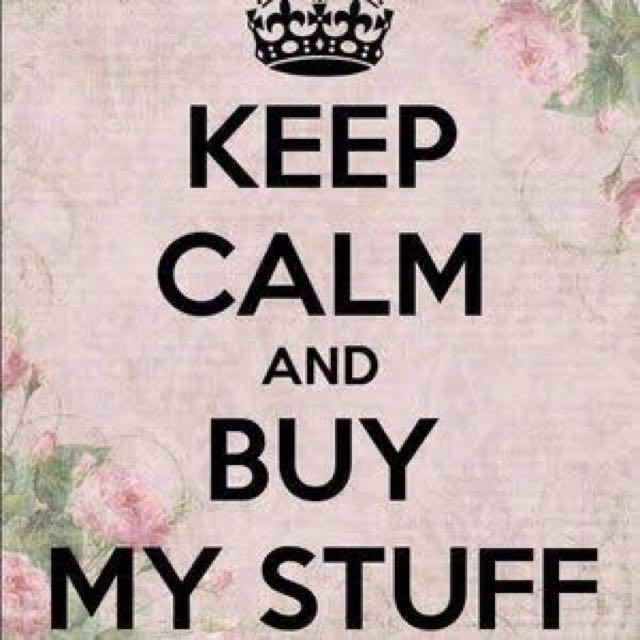 Buy My Stuff!!!!!!