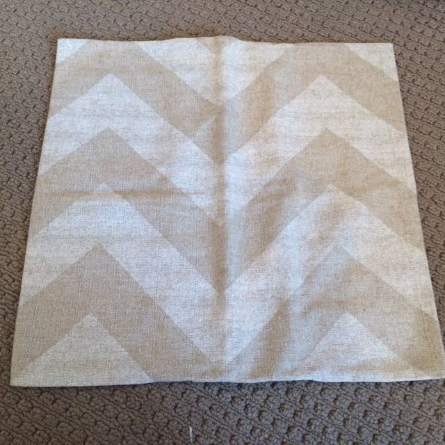 Chevron Print Cushion Cover