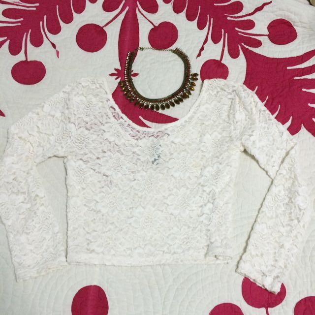 Crop Top Lace