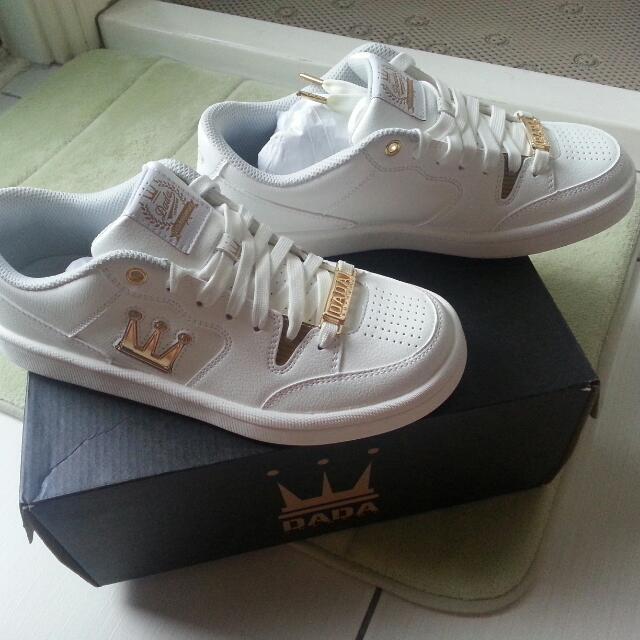 [全新]DADA20週年紀念白金女鞋