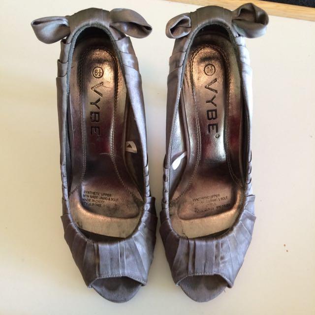 Dark Grey 6.5 Heels