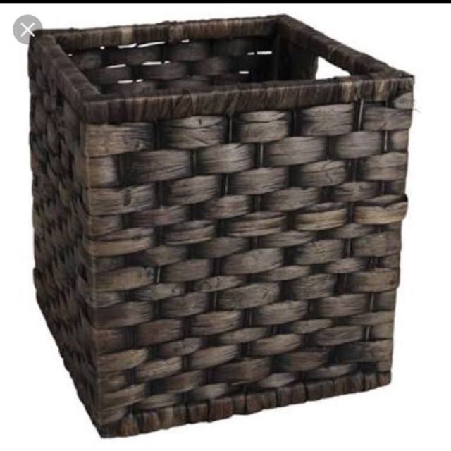 Square Wicker Basket 27cm