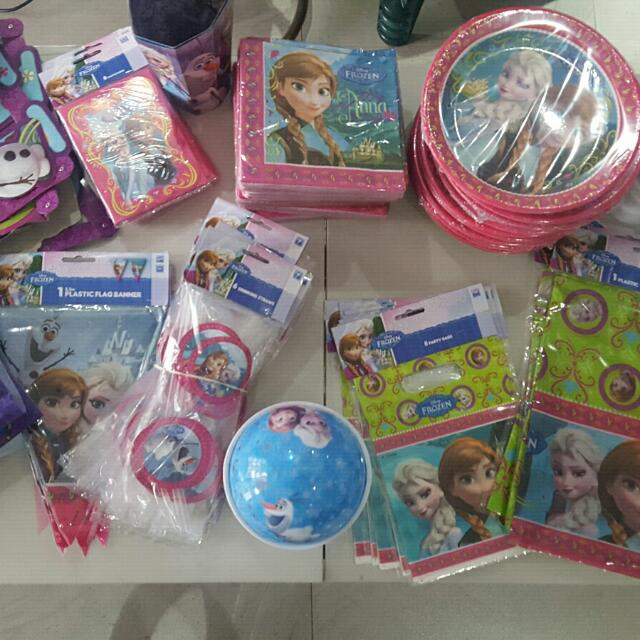 Frozen Theme Birthday