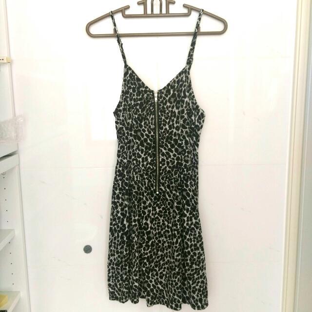 全新美國H&M購入 豹紋洋裝