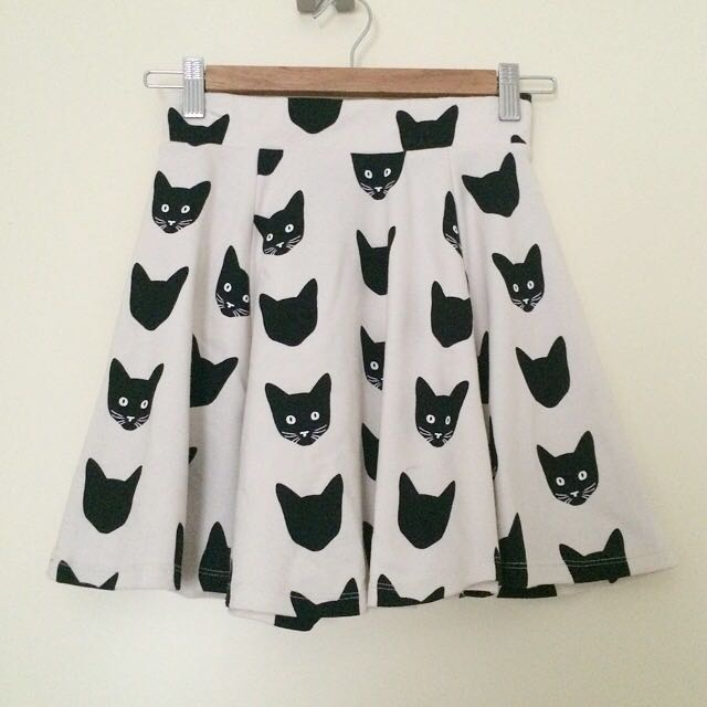 H&M Cat Skirt