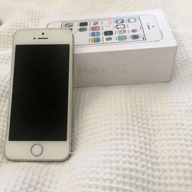 iPhone 5S Gold FOR PARTS