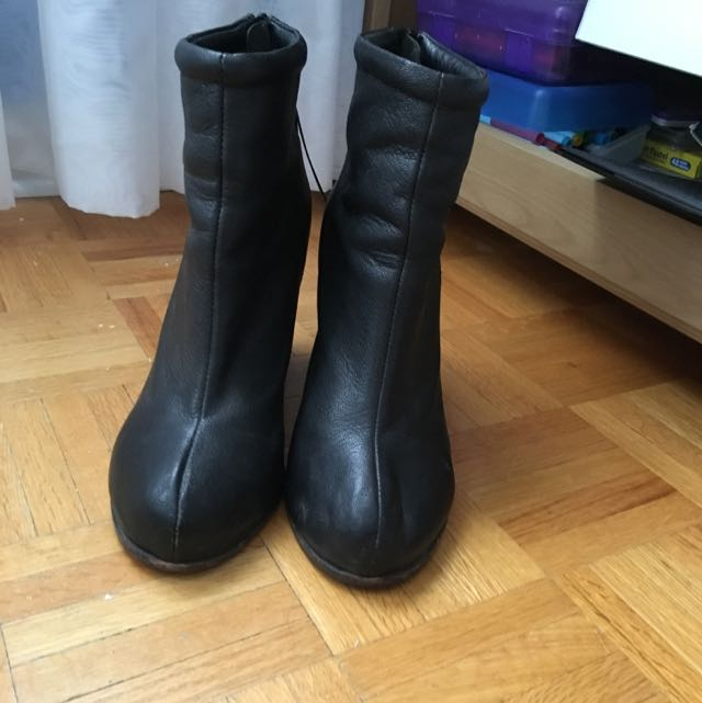 Jefferey Campbell Leather Boots