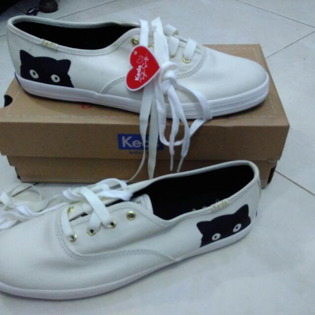 Keds Taylor Swift Sneaky Cats Cream