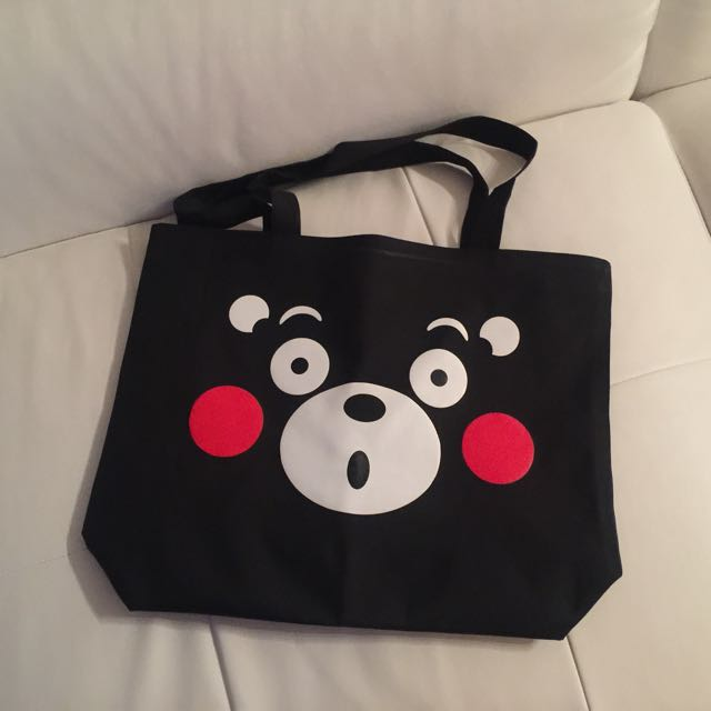 Kumamon Hang Bag With Zipper
