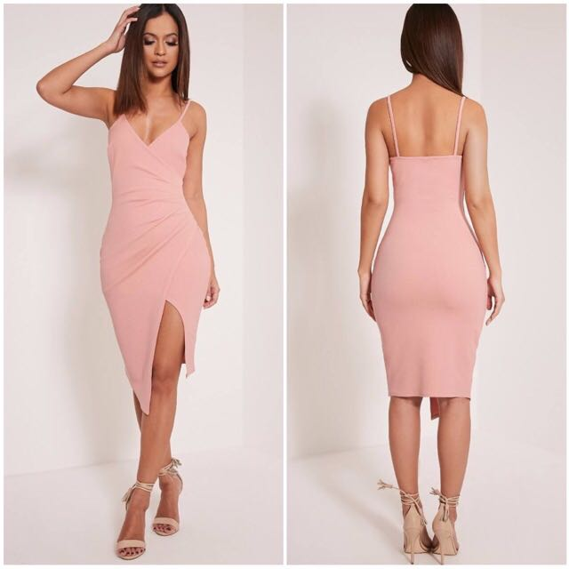 Kylie Jenner Style Steal: Nude Midi Dress