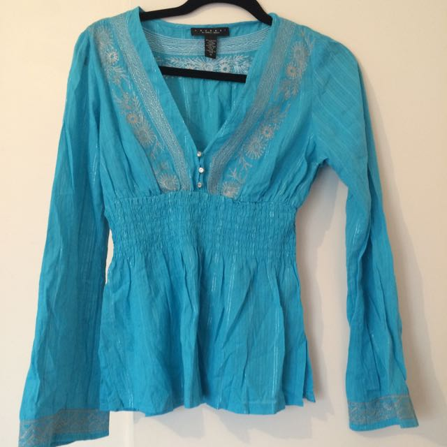 Laundry By Shelli segal Top Sz M