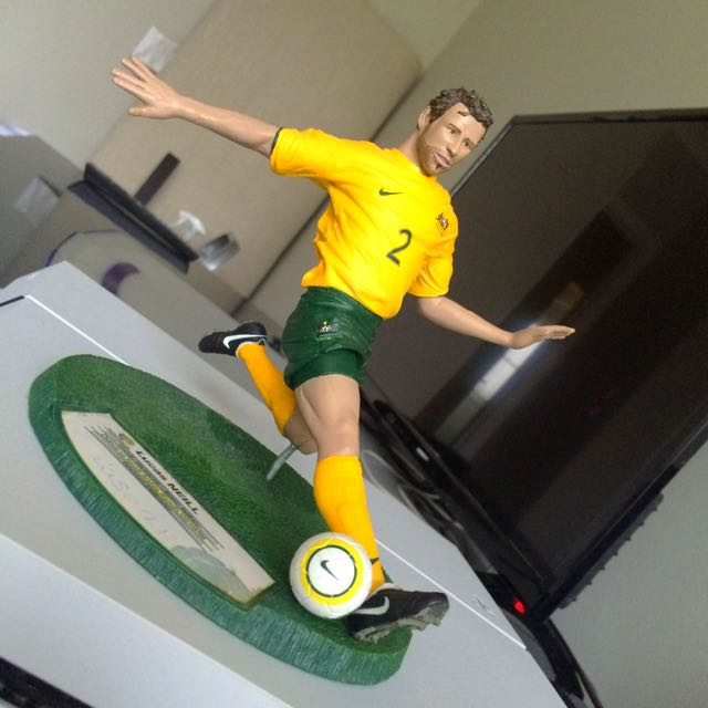 Limited Edition Lucas Neill Collectors Item