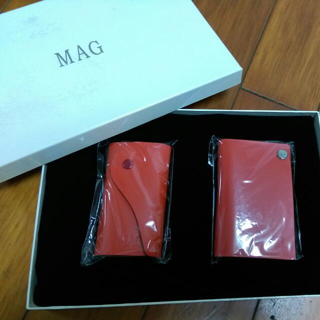 MAG瑪萱 瑪格 時尚鑰匙圈,名片夾