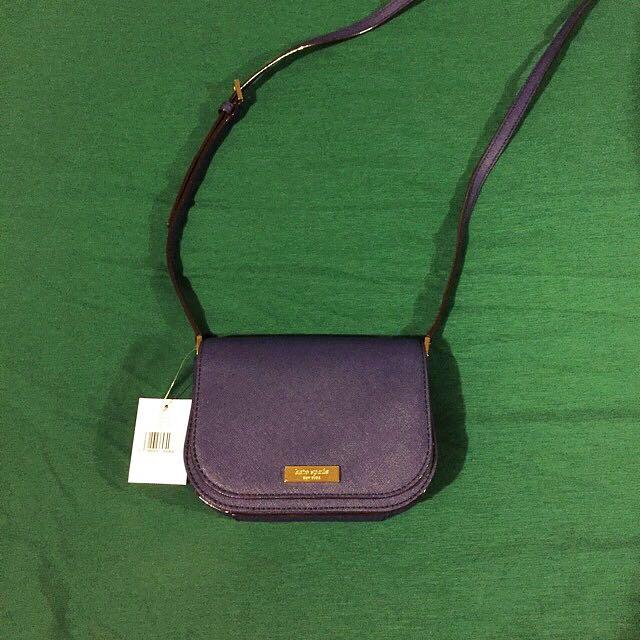 Price Drop! Navy Blue Kate spade Side Bag