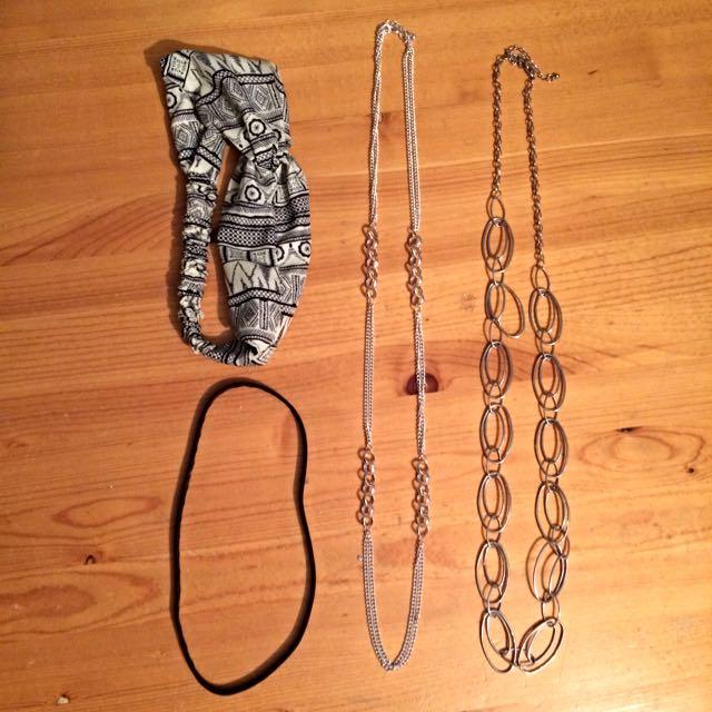 Necklaces & Headbands