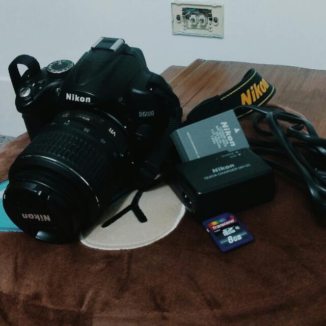 Nikon D5000 DLSR 數位單眼相機(保留
