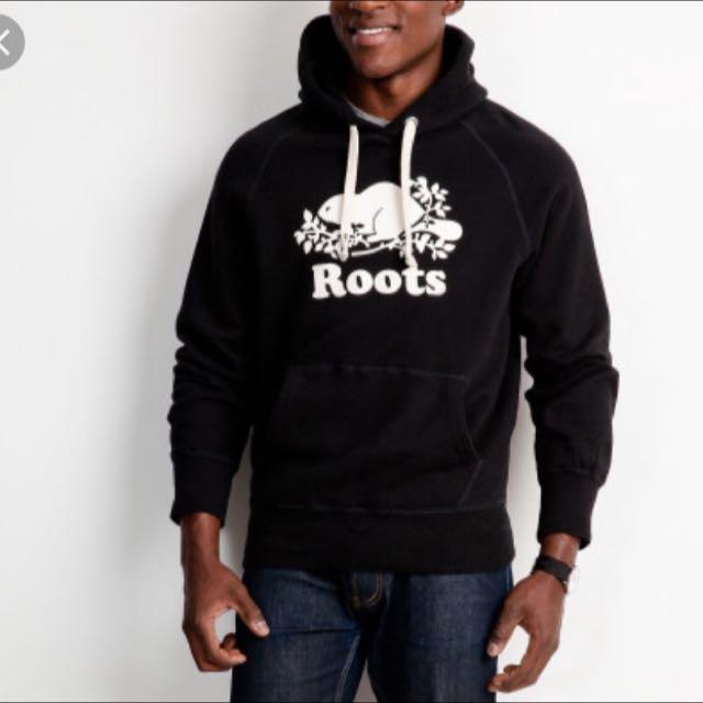 Original Roots Black Hoodie