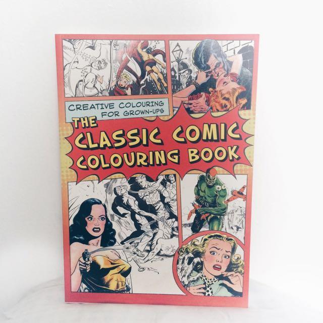Original Version The Classic Comic Coloring Book