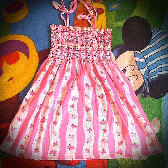 pink dress for toddler